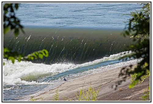 canada water canon river spectacular flow saskatoon saskatchewan southsaskatchewanriver weir dramatichistory