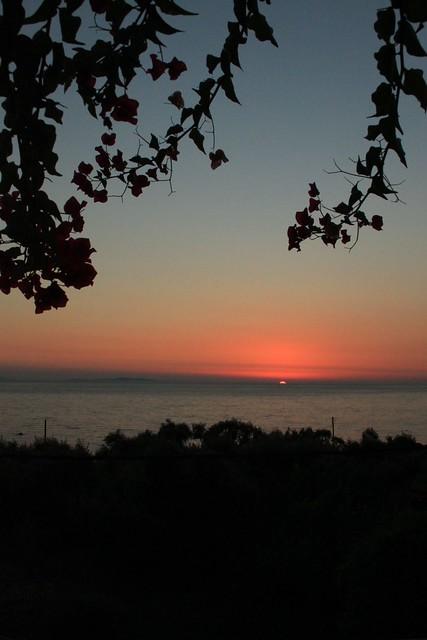 tramonto a Vrachos