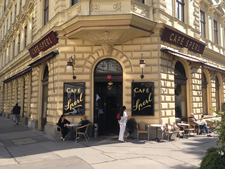 Cafe Sperl Vienna - Sept 2014