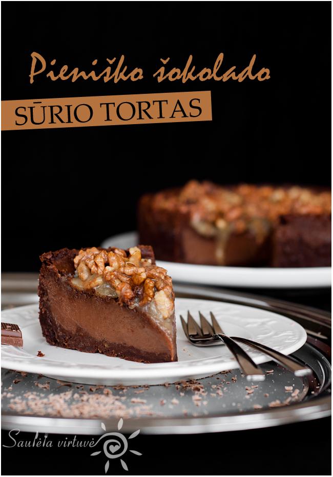 Pieniško šokolado sūrio tortas (1)