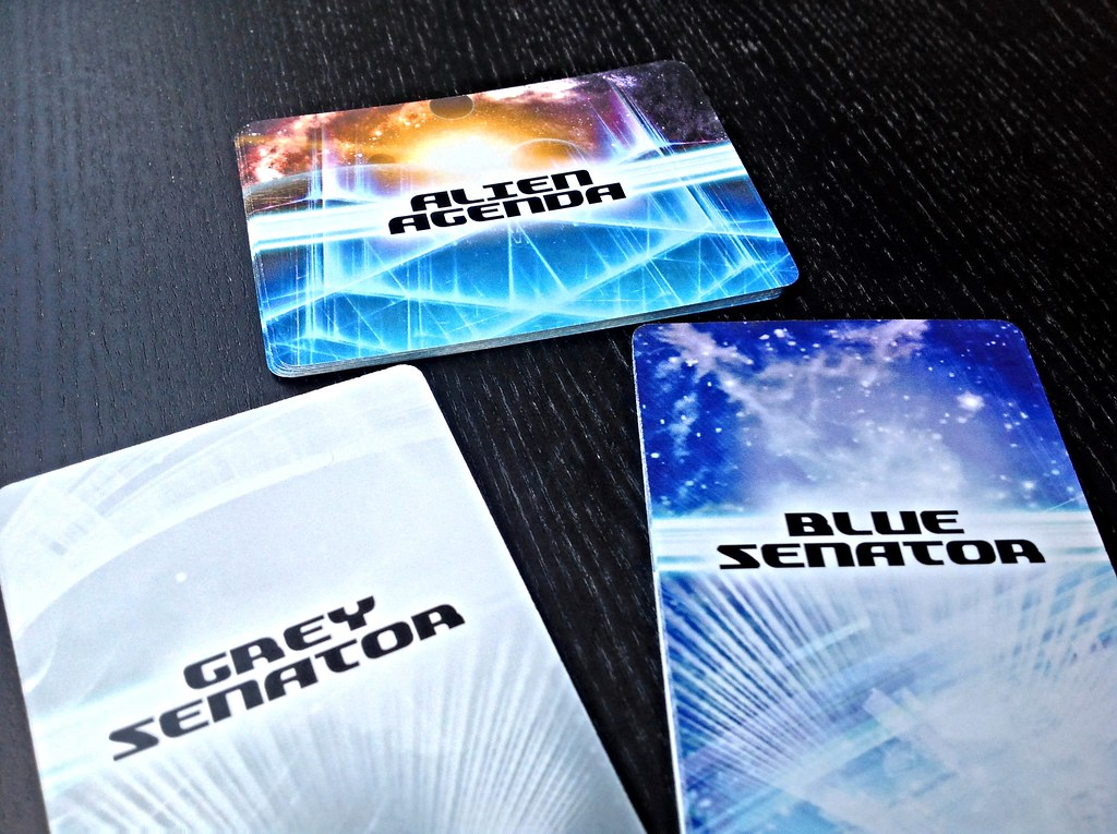 Sample SOLAR SENATE card backs