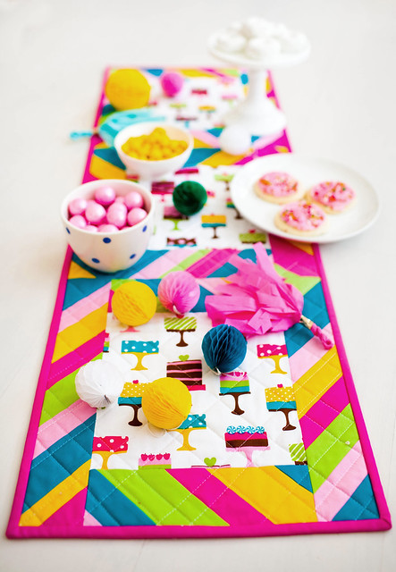 Piece of Cake Table Runner