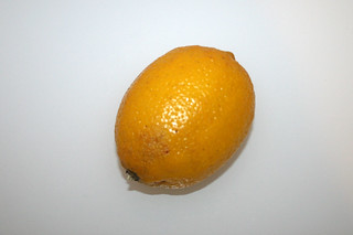 08 - Zutat Zitrone / Ingredient lemon