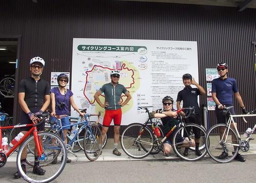 140903 Sim Works Company Ride @モリコロパーク サイクリングコース
