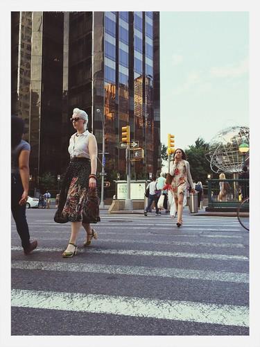 Street Fashion at Columbus Circle