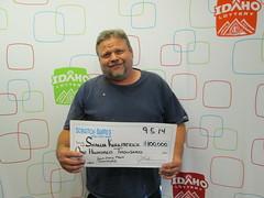 Shaun Kirkpatrick - $100,000 Gem State Mega Cashword