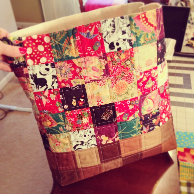 Japanese Patchwork Purse