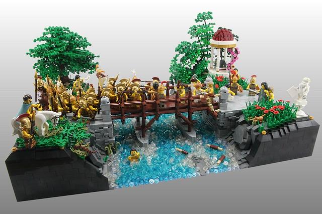 Lego MOC of the Week - Horatius on the Bridge by Dan Harris