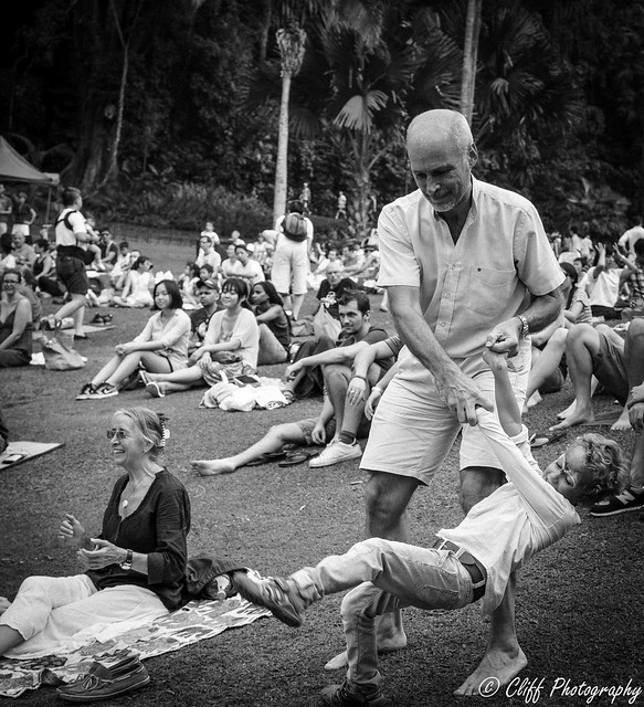 Grooving with Grandpa