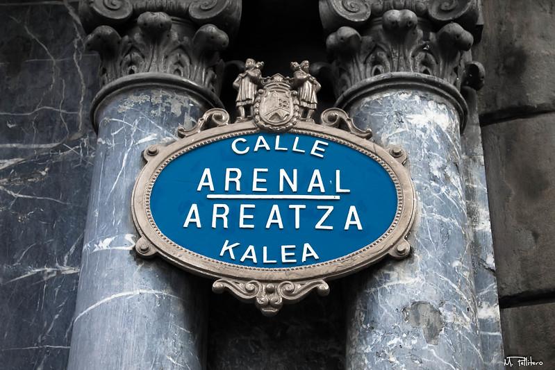 Calle Arenal - Areatza Kalea