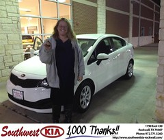 #HappyBirthday to Wendy Lemons from Kathy Parks at Southwest KIA Rockwall!