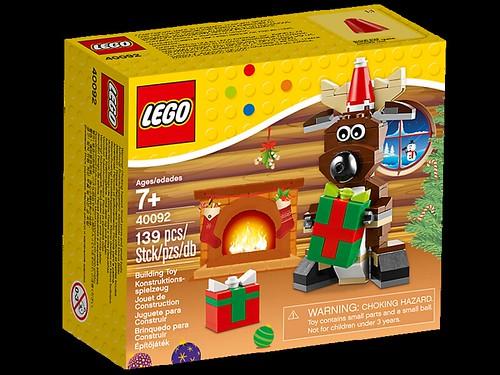LEGO Seasonal Christmas Reindeer (40092)