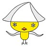 Chick cartoon character - Squid chick