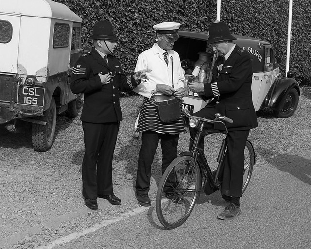 Stolen milk bottle - Goodwood Revival