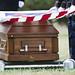 Pfc. Bernard Gavrin burial