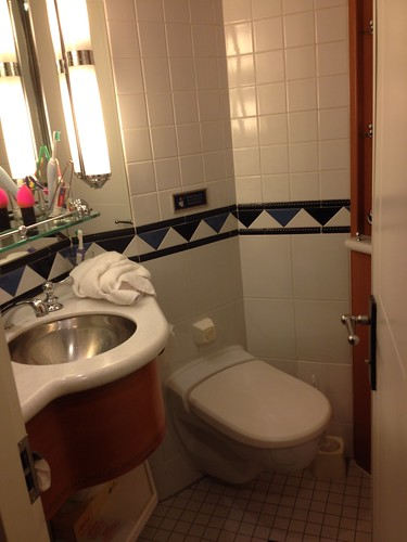 Split bathroom - toilet and sink