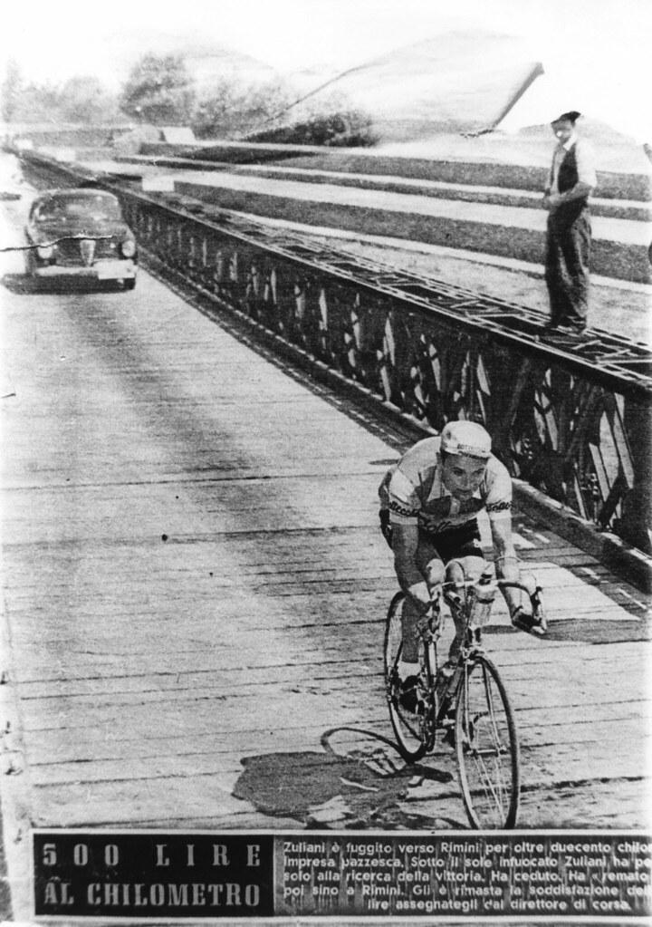 Giro d'Italia 1953 tappa Abano Terme-San Marino