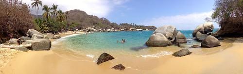 La Aranilla beach at Tayrona National Park