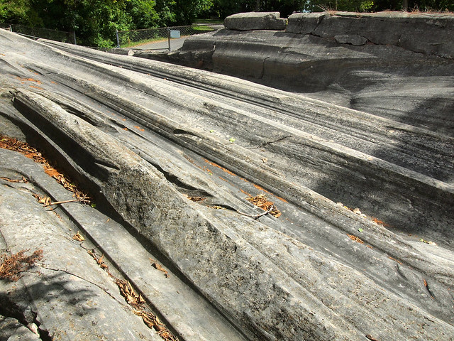 Glacial Grooves on Kelleys Island