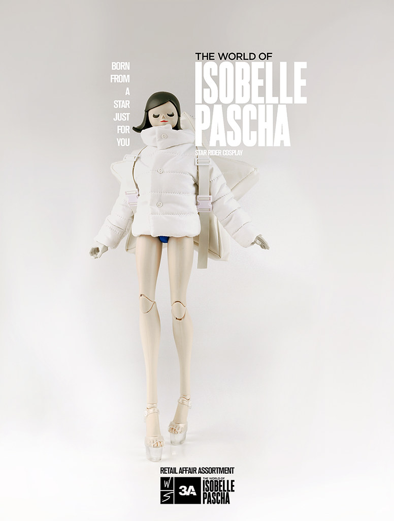 threeA – 第一彈【THE WORLD OF ISOBELLE PASCHA】零售商 變裝限定