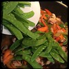 #asianstyle #chicken #vegetables #homemade #CucinaDelloZio - snow peas