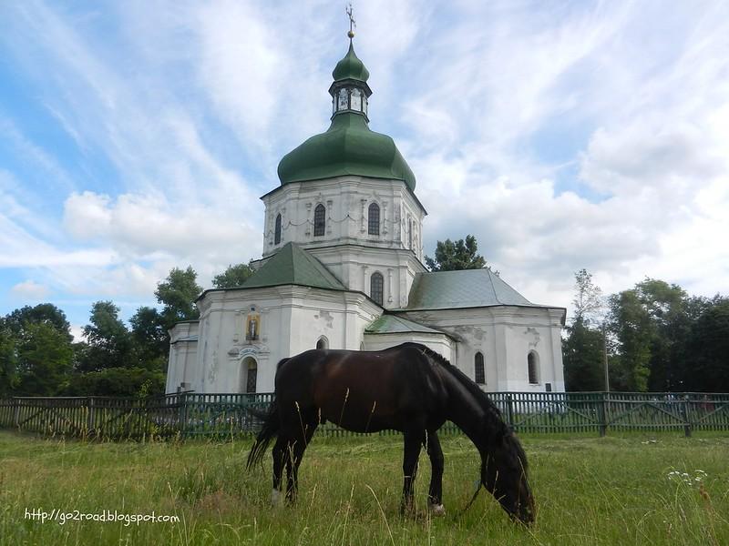 Седнев Воскресенская церковь