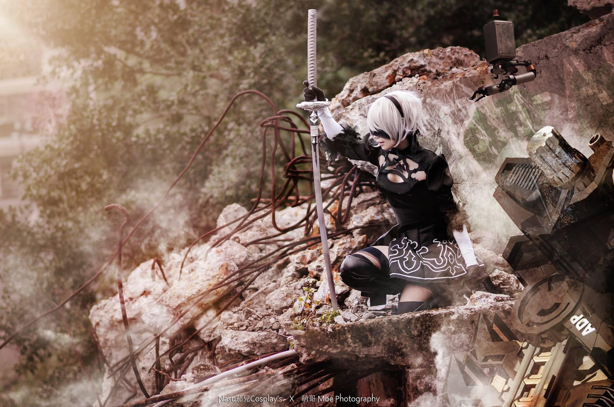 Cosplay Nier: Automata