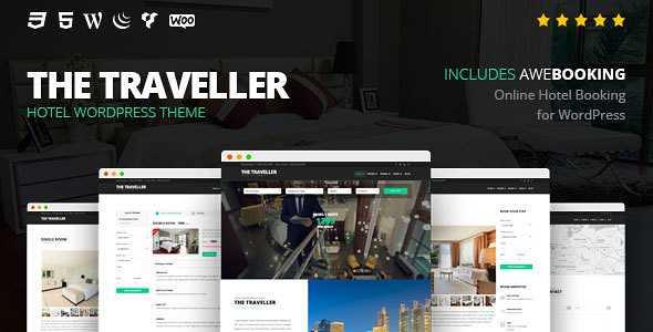 The Traveller WordPress Theme free download