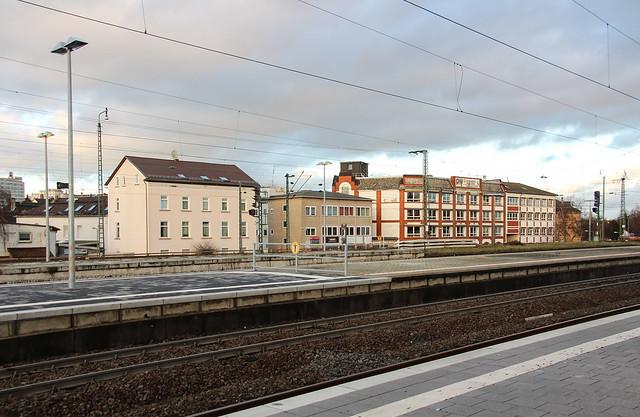 Bahnhof, Frankfurt-Höchst 2016