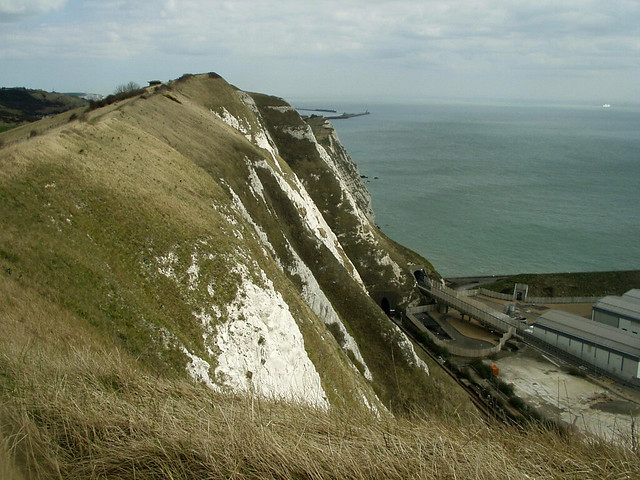 Samphire Hoe and the White Cliffs