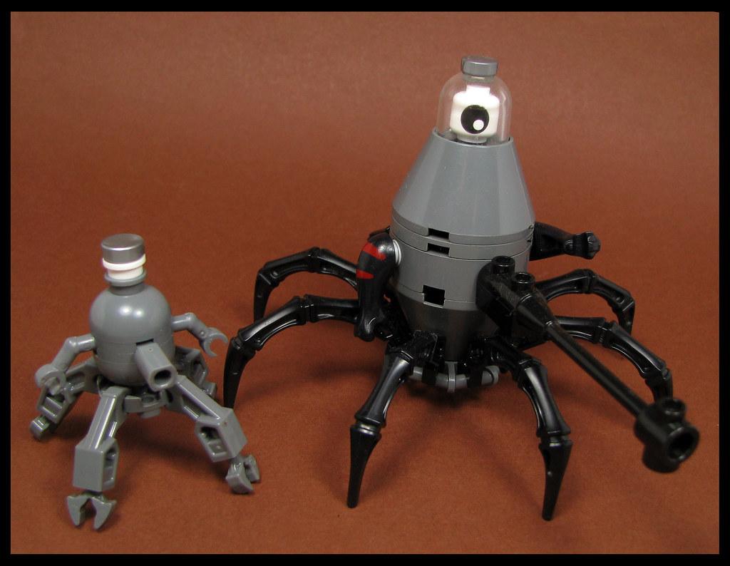 Heavy Gun Scuttler (custom built Lego model)