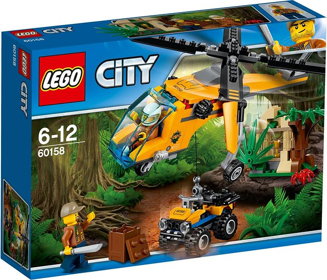 60158 Jungle Cargo Helicopter 1