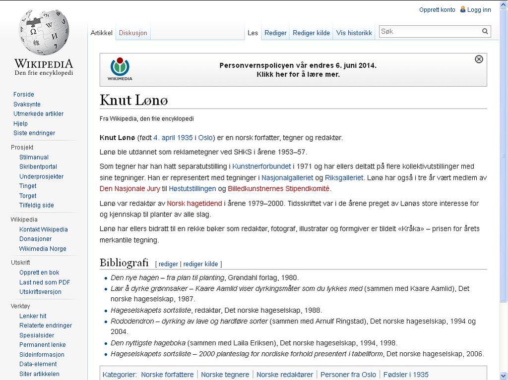 knut lønø wiki