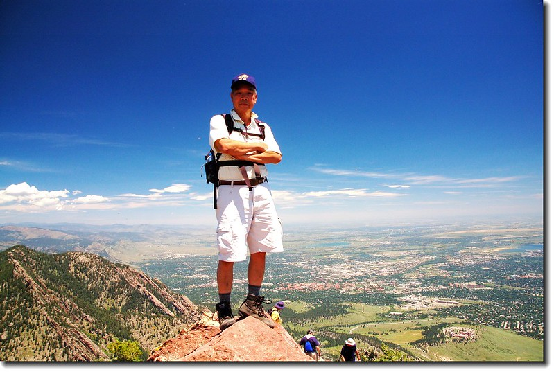 Me on the summit of Bear Peak 2