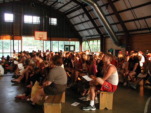 Audience at Camp Wak-N-Hak