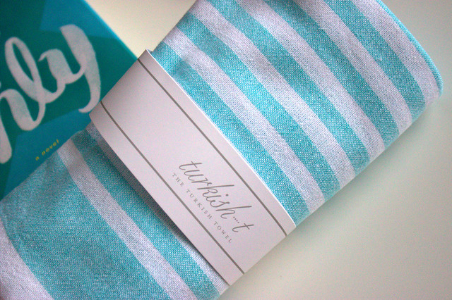 Popsugar Must Have Box towel