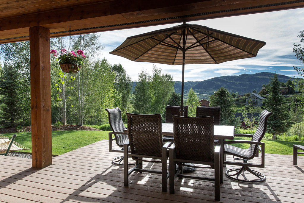 Emerald mountain views, porch, Steamboat home for sale