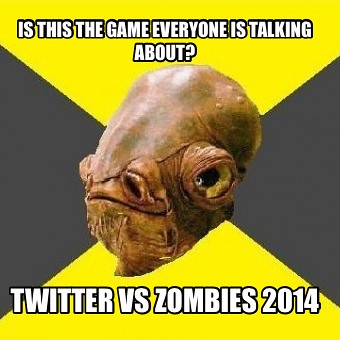 Twitter vs zombies