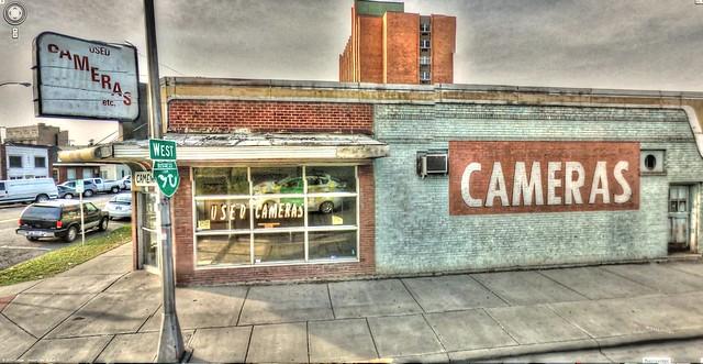 Google Street View - Pan-American Trek - Used Cameras