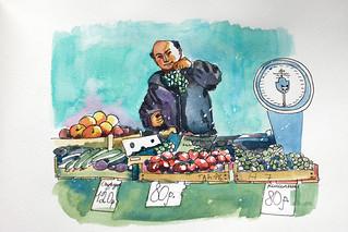 Преображенский рынок (open market)