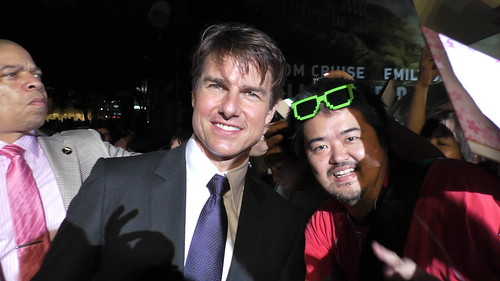 Tom Cruise and JETDAISUKE