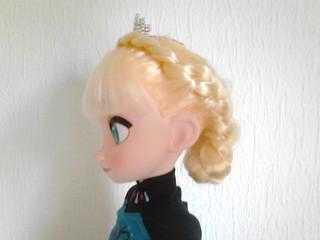 Elsa Robe de Couronnement