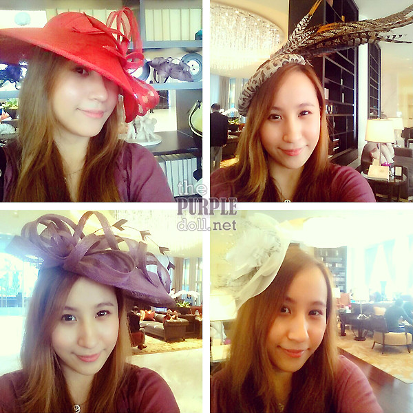 Glam Hatters Raffles Makati The Purple Doll