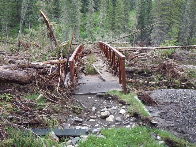 Flood rehab program to repair backcountry trails