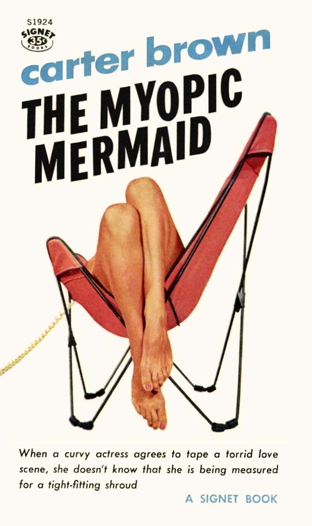 Cover Carter Brown, The Myopic Mermaid, 1961