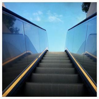 Grand bleu ce matin  (Série #Escalator4)