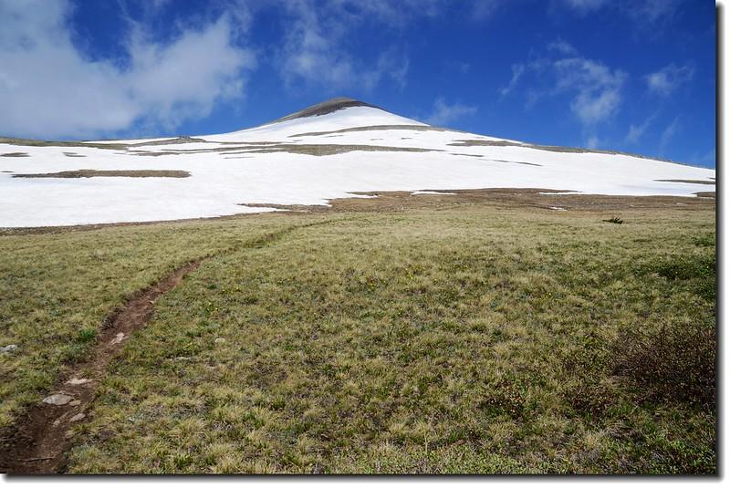 James Peak false summit from east slope 1