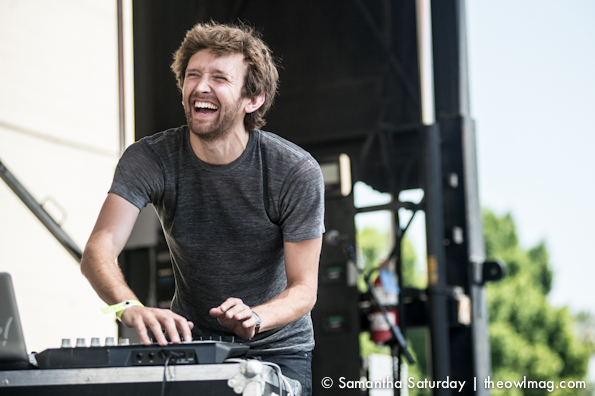Sylvan Esso @ Make Music Pasadena 2014