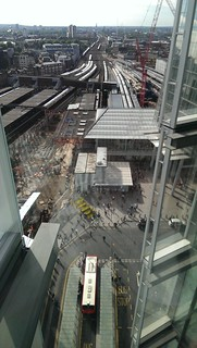 London Bridge Station from the News Building