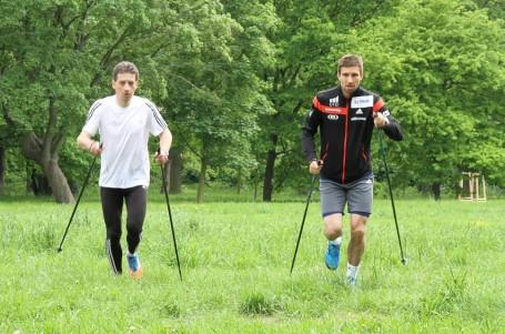 Nordic running: Delší na cvičišti, kratší na bojišti
